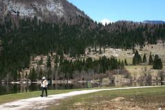 Granjero de Arkansas (raquelpastor) Tags: wild lake green primavera nature lago spring slovenia slovenija bohinj eslovenia jezero bohinjskojezero