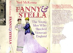 Fanny & Stella (nikavanagh) Tags: life stella england dog men drag oscar cross who wilde library secret rip ripped victorian young neil fanny dressing jacket cover dust sidney shocked mckenna 2013 sidders