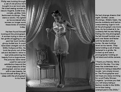 The Photographer: Intro (Jenni Makepeace) Tags: fetish transformation magic tgirl sissy caption captions mtf tgcaptions tgcaption