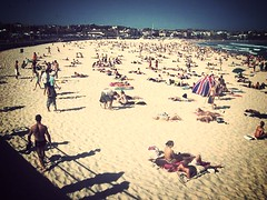 Bondi Beach (Max_Car) Tags: uploaded:by=flickrmobile flickriosapp:filter=mammoth mammothfilter
