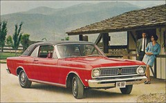 1969 Ford FALCON FUTURA 2-Door Coupe (1950sUnlimited) Tags: travel cars ford advertising design style vehicles transportation postcards falcon 1960s advertisements classiccars automobiles midcentury