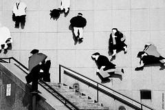 stairway (artland) Tags: street people blackandwhite bw toronto ontario canada art stairs way studio photography photo nikon stair photographer image photos photographers pb images getty escada rua pretoebranco gettyimages painel artland ruas escadas gettyimage d300 entertainmentdistrict bezz carlosbezz artlandstudio