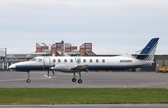 N956BW Fairchild Swearingen Metro 3  Glasgow Prestwick 5/5/13. (Pwkman) Tags: scotland airport metro aircraft aviation military fairchild prestwick pik ayrshire gpa swearingen prestwickairport southayrshire egpk glasgowprestwick n956bw