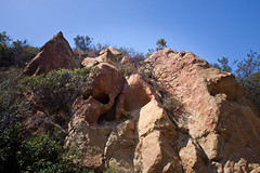 Rock Formations on the Eagle Rock Trail - Topanga State Park, California (ChrisGoldNY) Tags: california poster losangeles forsale socal posters albumcover bookcover southerncalifornia topanga westcoast bookcovers albumcovers eaglerock gridskipper laist topangastatepark losangelescounty jaunted eaglerocktrail chrisgoldny chrisgoldberg chrisgold chrisgoldphoto chrisgoldphotos
