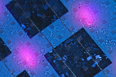 Sonnengruss (Oliver Sonns) Tags: glass croatia zadar lightshow glas hrvatska kroatien photovoltaik nikolabai sonnenernergie lichtspektakel greetingtothesun sonnengruss