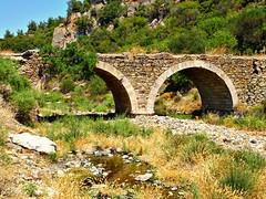 The bridge...near Vrisa Lesbos Greece (panoskaralis) Tags: bridge stonebridge river nature ancient island lesvosisland lesbos mytilene greece hellas aegeansea summer greeksummer summerholidays holidays green