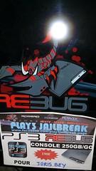 20160805_073950 (play3jailbreak) Tags: play3 jailbreak achat acheter commander ps3 slim 250gb dex rebug 475 manette joris bey envoi france mondial relay