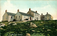 The hotels at Lands End (mgjefferies) Tags: england cornwall penzance landsend postcard 1911 hotel