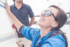 Velerito Ra de Ribadeo (daviddopicopicos) Tags: velero velerito barco ria de ribadeo david dopico nedas89 julio 2016 eo paseo galicia asturias marina amor roca carmen beatriz nikon d3000