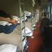 Vagão de trem com camas, rumo a Xi'an