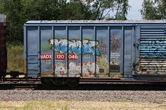 Erupto (quiet-silence) Tags: graffiti graff freight fr8 train railroad railcar art erupto a2m sws d30 dirty30 vts boxcar nadx nadx120046
