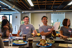 All Smiles (ZURBinc) Tags: 24hours johnleanne juansandoval zurb zurbwired bayarea campbell coffee content event foundation marketing nonprofit productdesign sketches zurbwired2016