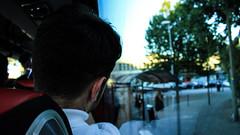 Caminho de casa (faneitzke) Tags: rotary rotaryyouthexchange exchangestudent studentexchangeprogram traveller traveler travel trip travelling traveling france frana nantes paysdelaloire bretagne bretanha britanny summer portfolio argentino argentinian boy man bus nibus autobus portrait retrato route a11 garedenantes shadow contraste light luz canont5eos1200d canont5 canon people pessoas gente personas gens ombre sombra lumire