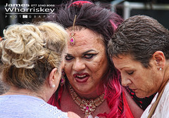 If Looks Could Kill ! (James Whorriskey (Delbert Jackson)) Tags: jameswhorriskey jameswhoriskey delbertjackson derry londonderry uk ulster ireland northernireland photo photograph photographer picture aroundus impressionsexpressions catchycolors jameswhorriskeyphotography colour foyle pride follies drag queen 2016 lgbt guildhall square parade queens flay irelands largest