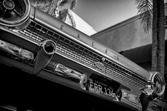 In a Galaxie 50 Years Away.. (autobahn66.com) Tags: ford glaxie amerikana americana blackandwhite chrome california v8 detroit sixties 1963