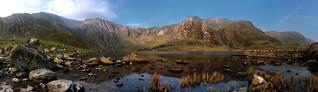 Llyn Idwal - Panoramic