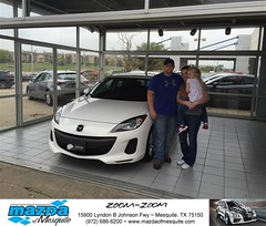 #HappyBirthday Jeanene from Gregory Powell at Mazda of Mesquite! (Mazda Mesquite) Tags: mazda mesquite texas tx sportscars sporty dallas dfw metroplex automotive luxury new used preowned vehicles car dealer dealership happy customers truck pickup sedan suv coupe hatchback wagon van minivan 2dr 4dr bday shoutouts