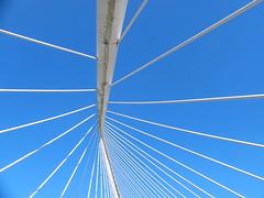 Bilbao (Giulia Gangemi) Tags: bilbao spain bridge architecture design sky landscape perspective white blue