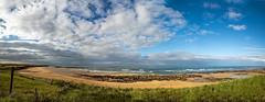 st combs beach (Sunshinenshadows) Tags: beach sand water clouds stcombs aberdeenshire scotland summer