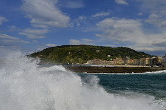 Donostia San Sebastin (silvia.vaghini) Tags: playa govinga beach ola zurriola