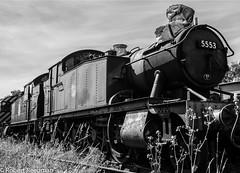 5553 (47843 Vulcan) Tags: gwr peakrail rowsley steam loco tank stored 5553 5224 petewaterman