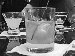 served (albyn.davis) Tags: blackandwhite drinks alcohol stilllife light glass focus