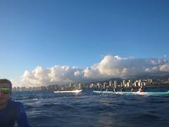 IMG_6839 (nautical2k) Tags: waikikibeachboys paddling outrigger canoe diamondhead honolulu oahu
