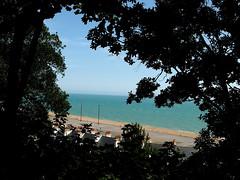 Folkestone Beach (only lines) Tags: folkestone beach kent uk coast englishchannel