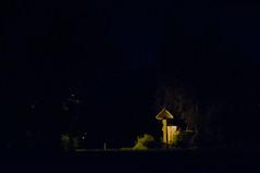 Paucarpata (Daniel Acarapi) Tags: noche arbol campo azul lampara tranquilidad espacio