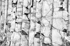 Vk  Mrdal, Iceland (unukorno) Tags: suurland island basalt structure bw sw monochrome