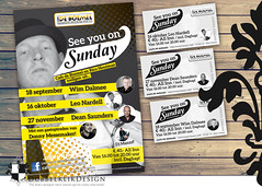 39 2016 see you on sundays (gabrielgs) Tags: graphicdesign vormgeving grafischevormgeving ontwerp print logo logodesign design poster uitnodiging signing cards