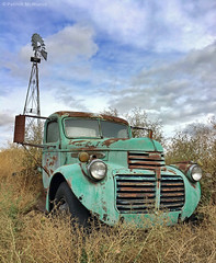 Abandoned - Truck & Windmill - Washington State (Electric Crayon) Tags: abandoned truck rust decay windmill pacificnorthwest wallawallacounty washingtonstate usa america unitedstates rural iphone6s electriccrayon patrickmcmanus