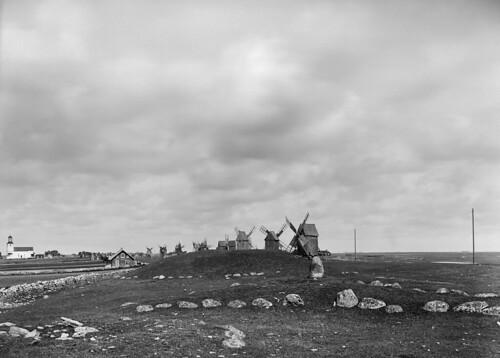 Gynge Mound, Resmo, Öland, Sweden