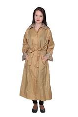 Nylon Raincoat (betrenchcoated) Tags: raincoat regenmantel nylon beautifulgirl singlebreasted buttones