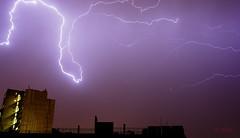 Lightning over Zurich DSC_5965:2 (yvefeli) Tags: zurich switzerland lightning thunderstorm nature amazing