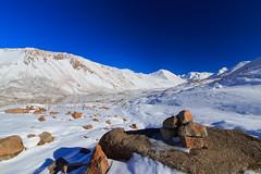 View on Kol Ukok Lake, Kyrgyzstan