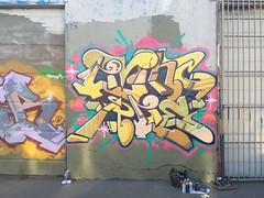 LIVING A LIE (LAL), by Cyme, HTK (Jonny Farrer (RIP) Revers, US, HTK) Tags: reversgraffiti uscrew halt reb voider voidr devo rvs revers htk us htkgraffiti usgraffiti sfgraffiti sanfranciscograffiti bayareagraffiti graffiti typography handstyles jonnyfarrer cyme cymer cymegraffiti cymergraffiti livingalie lal