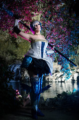 Odin Sphere (Nebulaluben) Tags: odin shpere cosplay costume cosplayer gwendolyn valkyrie sumyuna nebulaluben madrid el capricho fantasy photography video game gaming atlus vanillaware square enix spain