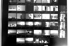 First ever contact sheet by me. (Howard Sandford) Tags: contactsheet processing film kentmere100 bw filmisnotdead
