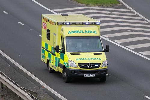 MOSS AY09 CSU MERCEDES SPRINTER SCOTTISH AMBULANCE SERVICE