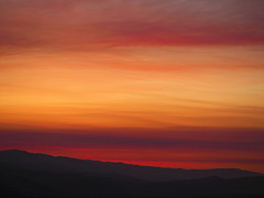 Tonight's Sky (Christopoulos (on again)! :-)) Tags: sky clouds smog sunset hills