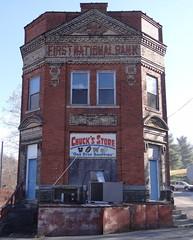 First National Bank Newburg, WV (Seth Gaines) Tags: westvirginia newburg bank