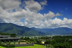View from Chung Tai Chan Monastery (mattlaiphotos) Tags: monastery chungtaichanmonastery religion belief scenery architecture building buddhism  puli nantou taiwan