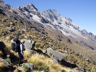 Région de Huaraz, Trek dans la cordillère des Andes