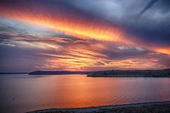 Sunset 92016 (Kansas Poetry (Patrick)) Tags: kansas sunset skies color sunbeams patrickemerson patricklovesnancy