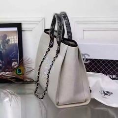 Chanel-Deauville-tote-Treschicshop (9) (TresChicShop.com) Tags: chanel tote handbag