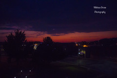 SunriseIMG_8642 (Melissa Grose) Tags: sunrise morning criel mound d street orange pink purple incredible harvest moon