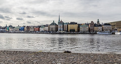 Cloudy Stockholm (virginieb20) Tags: skeppsholmen gamlastan old town stockholm sweden sude vieille ville city cityscape clouds nuages travel trip voyage capital capitale houses colors maisons batiments buildings outdoor photography canon canon6d canon24105mm skyline waterfront water cloudy