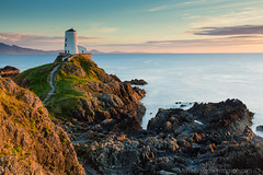 Sunset at Twr Mawr. (Michael Sowerby Photography) Tags: lighthouse twr mawr llanddwyn anglesea coast rocks sea sunset light golden evening sky wales northwales path outdoor