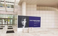 Museum, Mapplethorpe at Getty Museum, Mural